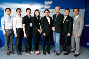 Judging Panel at a Korea – Thailand Startup Exchange Gathering