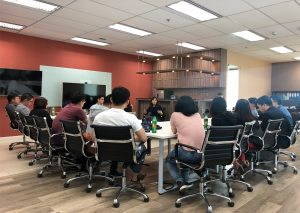 Hosting Singapore Startup Incubator from Ngee Ann Polytechnic